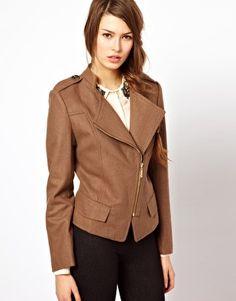 casual chic - Jovonnista Asymmetric Zip Jacket
