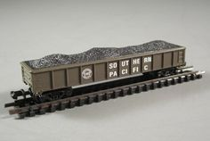 N Scale Southern Pacific Train Coal Car by UBlinkItsGone on Etsy, $3.96