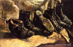 VanGogh, 3 Pairs of Shoes 1886