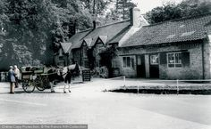Thornton Dale, The Forge 1964. When this photograph was taken, the pantiled old forge at Thornton Dale on the A170 east of Pickering had already diversified into pottery, postcards and gifts, as well as the more traditional metalwork. From The Francis Frith Collection, a privately-owned archive of over 130,000 photographs of Britain from 1860-1970 that you can browse online for free anytime! #franc