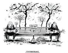 """OÖN-Karikatur vom 16. November 2016: """"November-Blues"""" Mehr Karikaturen auf: http://www.nachrichten.at/nachrichten/karikatur/ (Bild: Mayerhofer)"""