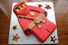 Birthday: Lego Ninjago Birthday Cake