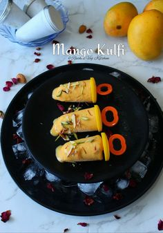 How to make Easy Mango Kulfi at Home Vegetarian Platter, Low Carb Vegetarian Recipes, Vegetarian Food, Vegan Recipes, Indian Desserts, Easy Desserts, Dessert Recipes, Easy Summer Meals, Summer Recipes