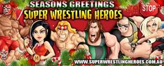 """Seasons Greetings from your Super Wrestling Heroes !!  To help spread the Christmas Spirit we would like to offer a MASSIVE 35% off all Official Super Wrestling Heroes Merchandise from our online store www.superwrestlingheroes.com.au/store using the promo code """"christmas2015""""  Happy Shopping and we hope you are everyone is looking forward to Christmas!  To have the Super Wrestling Heroes be apart of your next party or event visit www.superwrestlingheroes.com.au  Are You Ready For Christmas?"""
