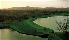 16th hole, Leopard Creek, Malelane, Mpumalanga, South Africa