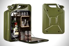 Jerry Can Mini Bar Cabinets by One Copenhagen