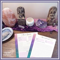 Moon journaling is an easy and effective way to deepen your sacred self-care routine. Keeping a moon journal is a way to forge a connection to the lunar cycle and begin to track patterns in yourmental, physical, and spiritual phases.