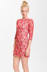 Diane von Furstenberg 'Twisty Clean' Print Silk Dress | Nordstrom