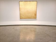 """Agnes Martin, <em> Friendship</em> (1963). Image: Ben Davi.s  """"The object of painting,"""" she would say, """"is to represent concretely our most subtle emotions."""""""