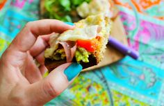 Be Gluten Free - Brighton : Goats Cheese & Avocado Crostini
