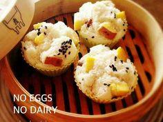 簡単!卵乳なし*さつま芋レーズン蒸しパンの画像