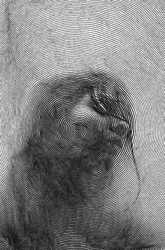 Stunning line art by paolo ceric тату grafiikka,taide ja pii Inspiration Art, Art Inspo, Art And Illustration, Escher Kunst, Arte Obscura, Design Graphique, Art Plastique, Op Art, Oeuvre D'art