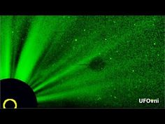 Amazing! 4 GIANT SAUCERS Around The Sun, STS 75, June 26, 2013 HD 1080p - YouTube