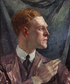 George LAMBERT Portrait of a young man