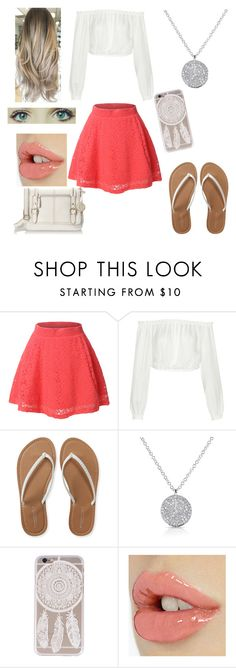 """Pretty Beach Outfit"" by mimi-minecrafter on Polyvore featuring LE3NO, Elizabeth and James, Aéropostale and Relic"