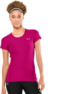 Women's Fitted HeatGear® Shortsleeve T-Shirt