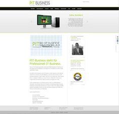 Professionell IT Business erweitert mit Webseiten-Relaunch das Agentur-Angebot http://www.pit-business.de