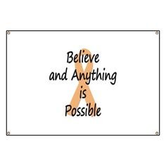 MS Believe and Anything is Possible