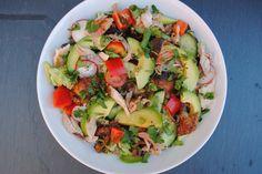 Jamaciaanse kip met avocado salade - Powered by @ultimaterecipe