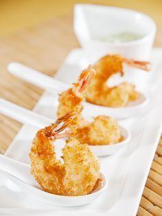 Beignets de crevettes marinées - Recette de cuisine Marmiton : une recette