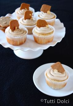 cookie butter cupcakes by Tutti Dolci