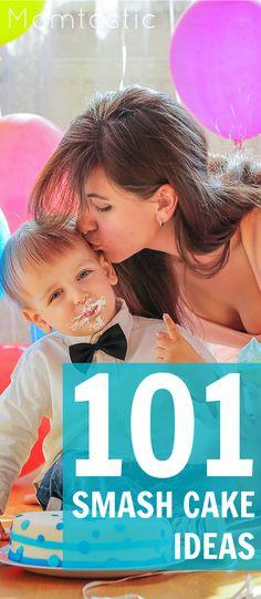 101 yummy #birthdaycake and smash cake ideas!