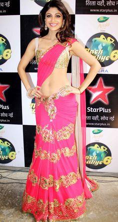 "Shilpa Shetty on ""Nach Baliye 6"" #Style #Bollywood #Fashion #Beauty"