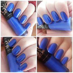 Unhas azuis, Frio na Barriga - Especialittá. Coleção Gio Antonelli. Blue nails. Nail Art. Nail Design. Polish. Manicure. Instagram by @Morgana Piazenski