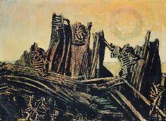 Max Ernst. La Foret Petrifiee