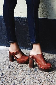 Free People Wonders Clog at Free People Clothing Boutique
