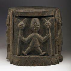 Yoruba Odo Sango (Sango Pedestal), Nigeria http://www.imodara.com/post/94344913134/nigeria-yoruba-odo-sango-sango-mortar