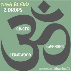 "13 Likes, 2 Comments - Essential Oils Nashville (@essentialoilnashville) on Instagram: ""Trying this diffuser blend today during yoga.   Ginger for sense of equilibrium and added energy in…"""