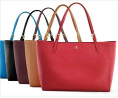 I have found perfection in a tote bag - Tory Burch!!