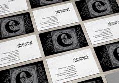 Elemental Importers. Tarjetas Personales.  #estudiocuadra #diseño #identidad