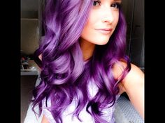 Purple hair, inthefrow
