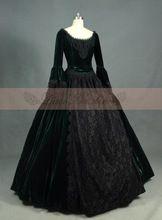 Ladies Victorian Lolita  Women Cos Anime Cosplay Costum Uniforms Gothic Palace Princess Dark Green Skirt //Price: $US $259.99 & Up To 18% Cashback //     #steampunk
