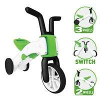 Chillafish Bunzi 2 in 1 Gradual Balance Bike and thousands more of the very best toys at Fat Brain Toys. Not quite ready for a balance bike but still ready to ride? Hop onto the Bunzi! Brilliantly designed, this unique vehicl. Kids Trike, Motorcycle Battery, Toys Uk, Motorcycle Gloves, Balance Bike, 3rd Wheel, Bike Reviews, Electric Cars, Cool Toys