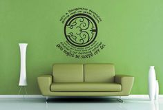 It's Dangerous Business Going Out of Your Door - Tolkien Wall Decal