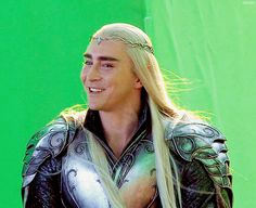 The Hobbit: The Battle of the Five Armies Extended Edition behind the scenes BTS - Lee Pace / Thranduil