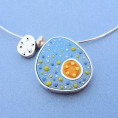 A really unique take on polymer clay jewelry.