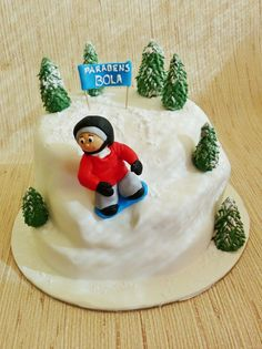 Snowboard Birthday Cake Topper Uk