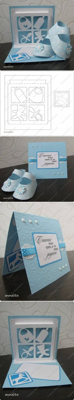 DIY Newborn Card Template DIY Newborn Card Template