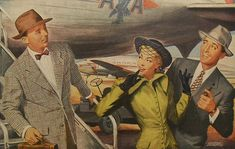 1950s Men's Fashions Illustration STETSON HATS Bing Crosby Men Millinery Advertisement Vintage Hollywood   Flickr - Photo Sharing!