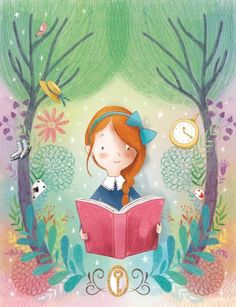 Elisa Paganell. Looks sort of like Anne Shirley.