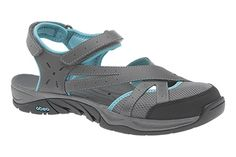 Equinox H2O performance sandals by ABEO, featuring drainage ports!