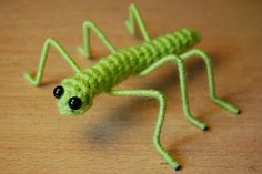 Crochet a stick insect using this free pattern, featured at Craftown! : Crochet a stick insect using this free pattern, featured at Craftown! Kawaii Crochet, Cute Crochet, Crochet Crafts, Crochet Toys, Yarn Projects, Crochet Projects, Crochet Ideas, Crochet Patterns Amigurumi, Crocheting Patterns