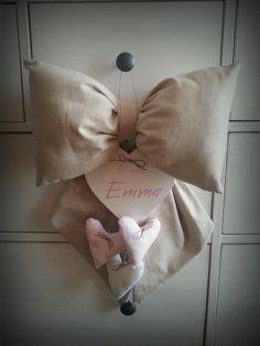 Fiocco nascita pronto e consegnato. http://atelieridee.blogspot.com/