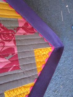 binding - no hand sewing