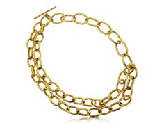 ROBERTO COIN 18K YELLOW GOLD NECKLACE FROM THE MARTELLATO COLLECTION - MulloysJewelry.com
