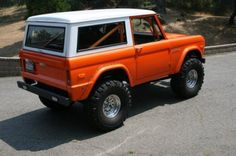 early 70s ford bronco